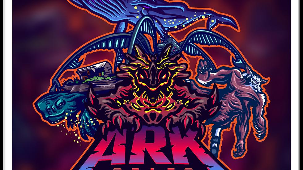 Ark Sales Gen Bubble-free stickers