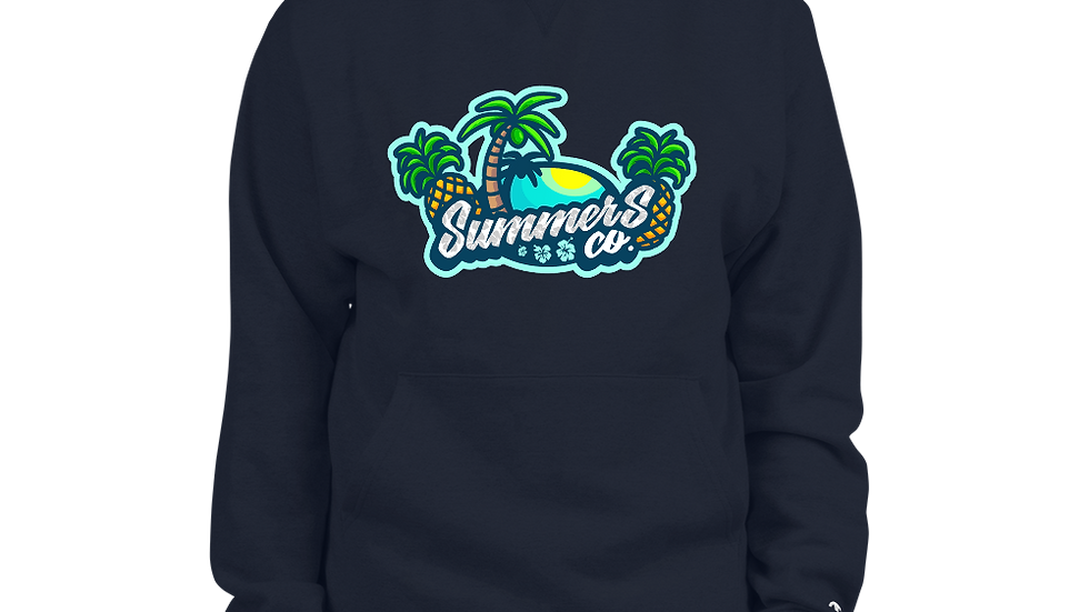 Men's Champion Navy SummersCo Hoodie