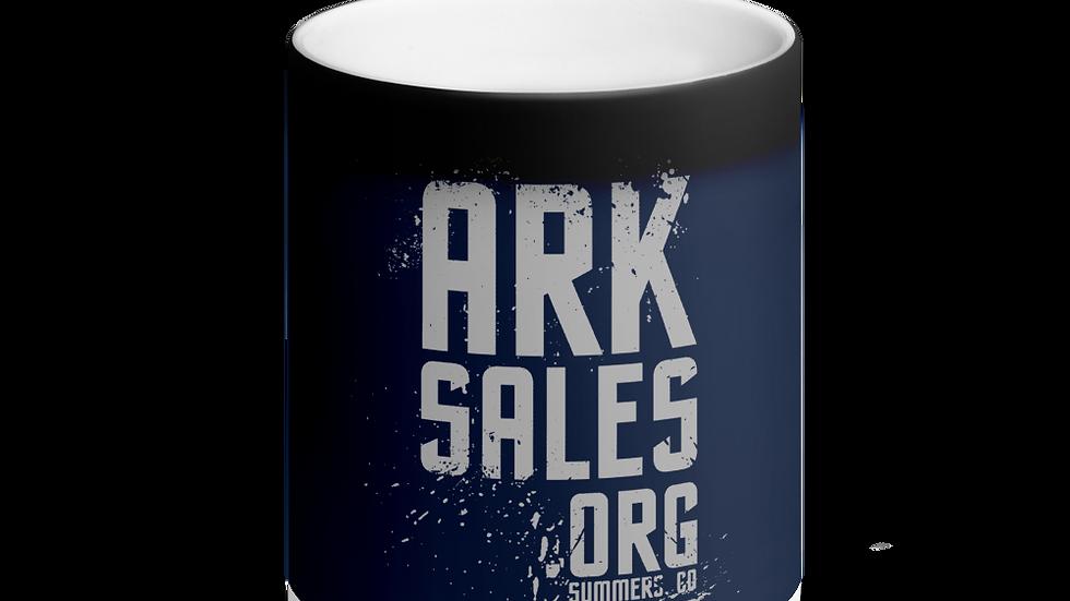 ArkSales Matte Black Magic Mug