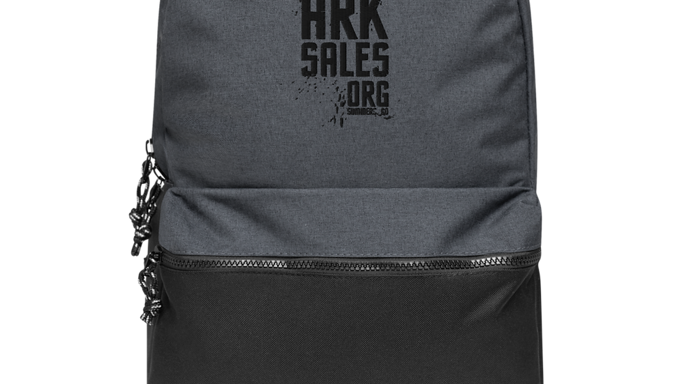 Embroidered Ark Sales Champion Backpack