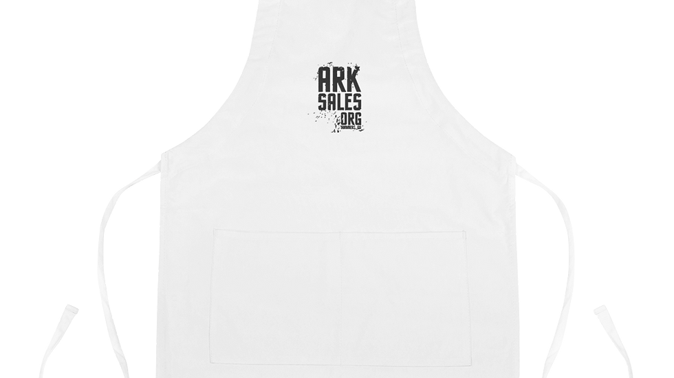 ArkSales Embroidered Apron