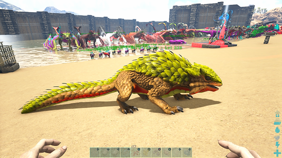 223 Unleveled Yellow Event Thorny Dragon