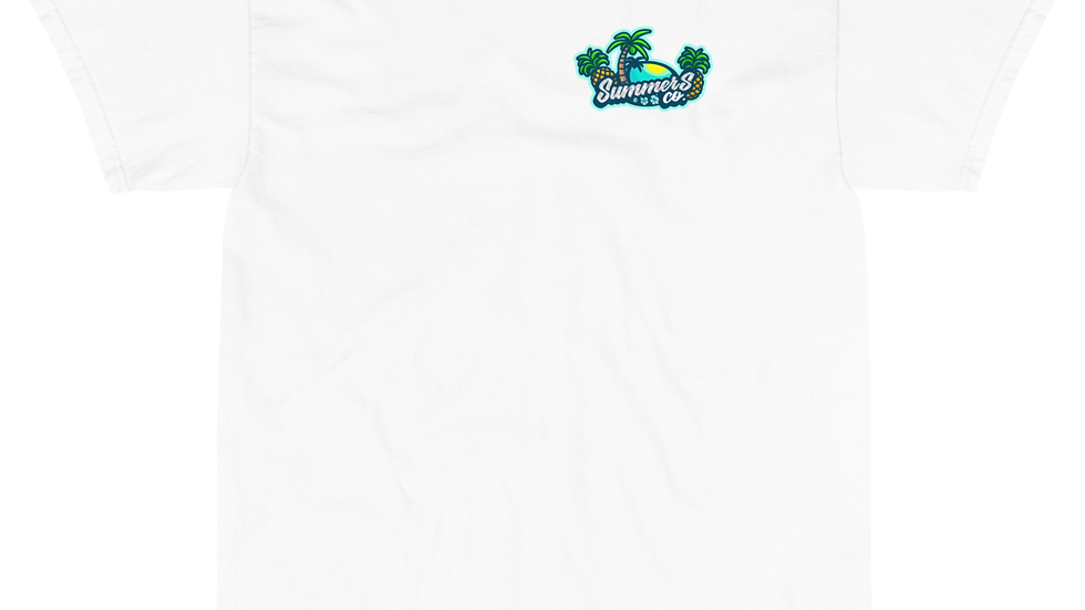 Mens Crew SummersCo T-Shirt 100% Cotton