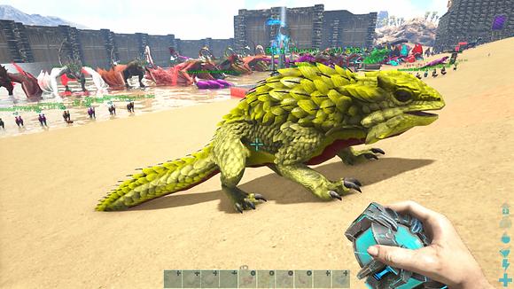 319 Unleveled Yellow Event Thorny Dragon