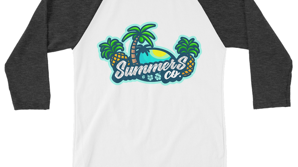 Men's SummersCo 3/4 Sleeve Raglan Shirt