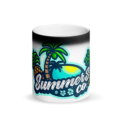 SummersCo Matte Black Magic Mug