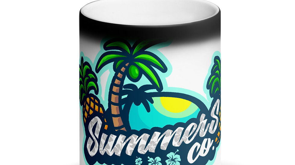 SummersCo Matte Black Magic Mug