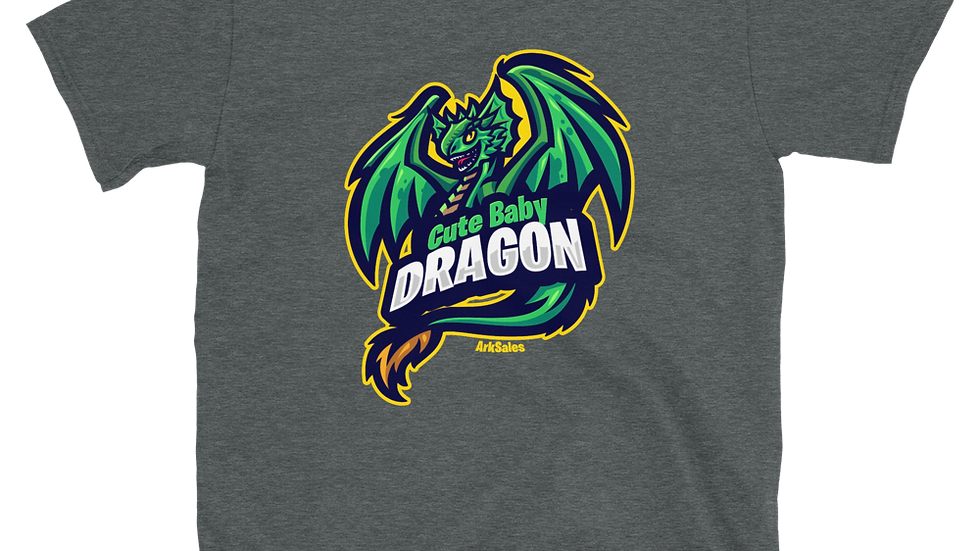 Unisex Baby Dragon 100% Cotton T-Shirt