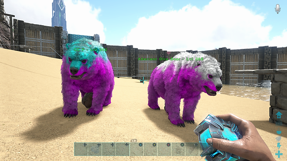 268/242 Unleveled Breeding Pair Cotton Candy Event Ab Dire Bears 🐻