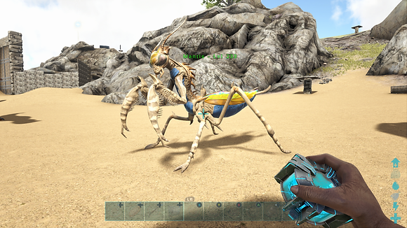 233 Unleveled Blue Belly Mantis
