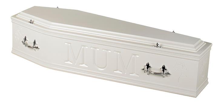 Artiste Coffin Mum white
