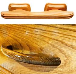 Eco friendly coffin handles