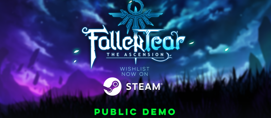 OUR STEAM PAGE IS LIVE!