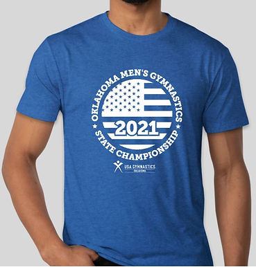 Vintage Royal 2021 State Shirt