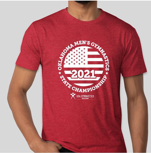 Vintage Red 2021 State Shirt