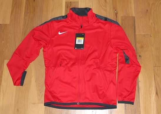 Girl's Red Track Jacket