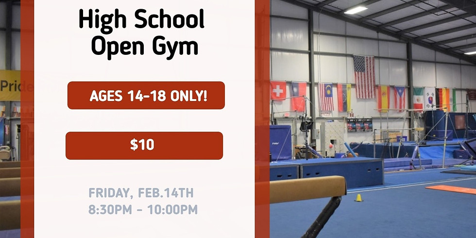 High School Hang Out Open Gym
