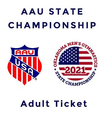 AAU Adult Ticket