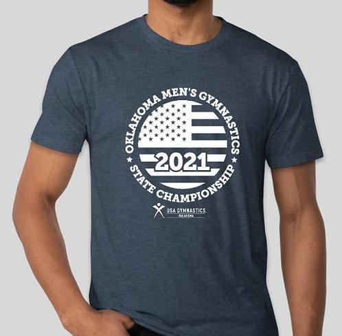 Vintage Navy 2021 State Shirt
