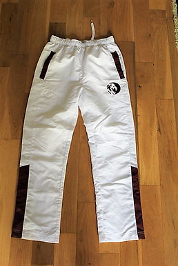White Track Pants #1
