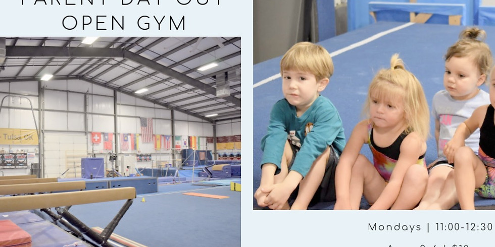 Parent Day Out Open Gym (For Kids 2-6)