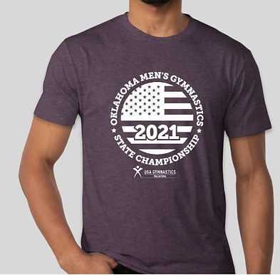 Vintage Purple 2021 State Shirt