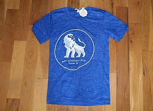 Heathered Blue 2019 Pride Invitational Shirt