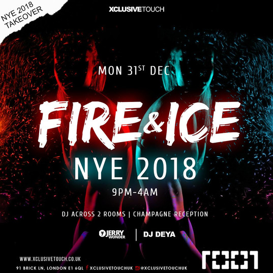 Fire & Ice Returns to Cafe 1001 NYE 2018