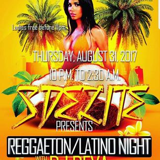 Hosted my Own Latino/Reggaeton Night