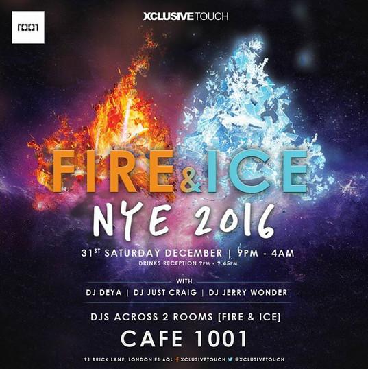 Cafe 1001 2016 NYE Special