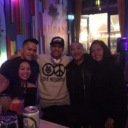 With Family @ Floripa - Shoreditch