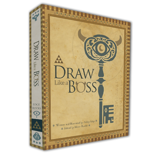 Draw Like a Boss Book Paperback