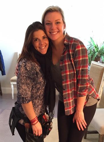 Gina and Brooke