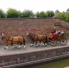Saverne on the Canal de la Marne au Rhin