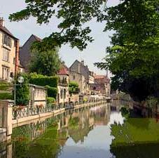 Dole on the Canal du Rhône au Rhin