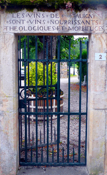 chateau-gate