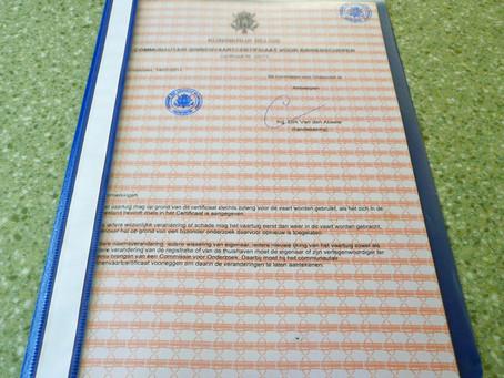 2011 Our Certificat Communautaire