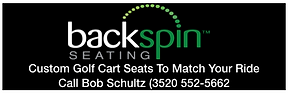 Backspin Seating Ad