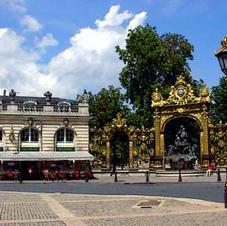 The gates of Jean Lamour in Nancy