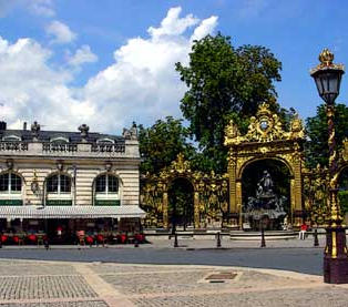 The gates of Jean Lamour in Nancy