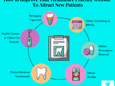 How To Improve Your Healthcare Practice Website To Attract New Patients