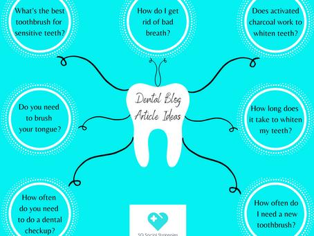 Dental Blog Article Ideas