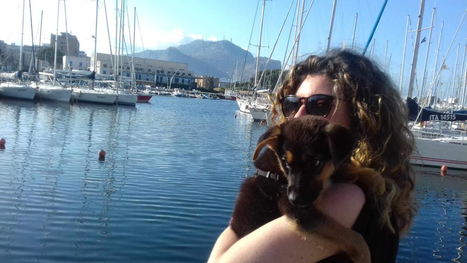 touristic port, Palermo, Italy