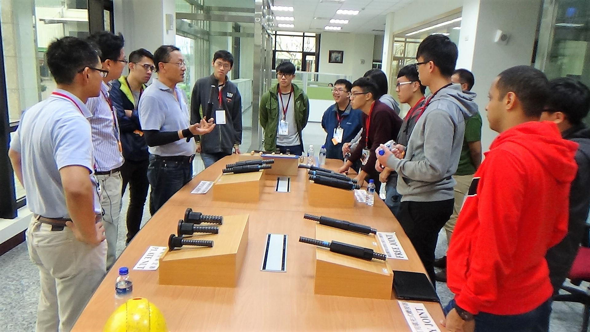 成大土木工程學系參訪