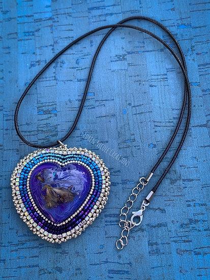 Blue Gradient Heart
