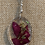 Thumbnail: Wire Wrapped Oval Rose Pendant