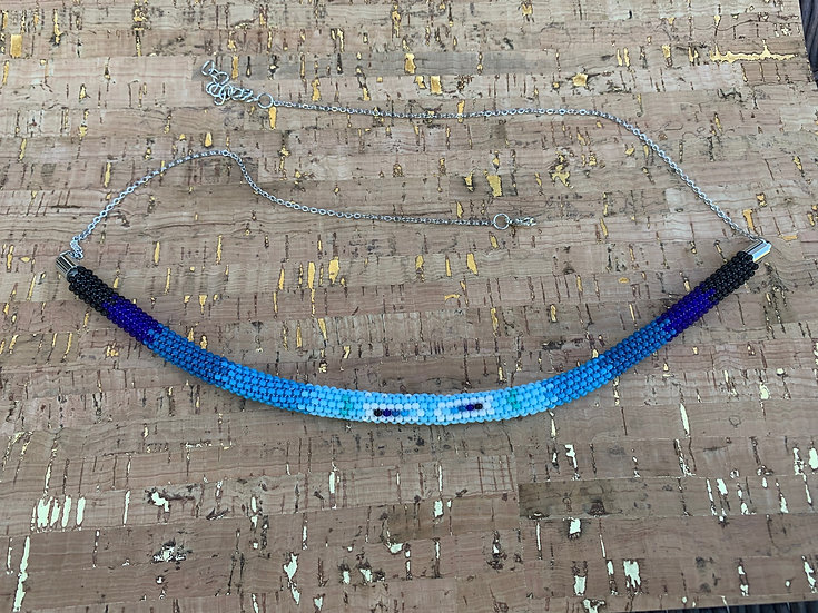 Custom Peyote Necklace