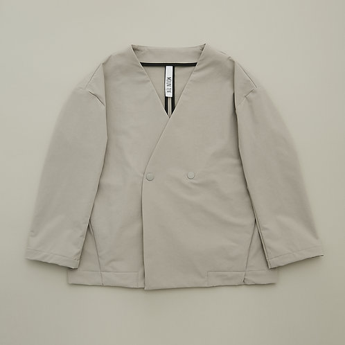double cloth stretch jacket