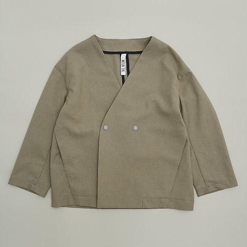 polyester canapa jacket