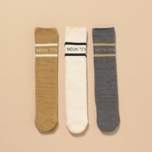 MOUN TEN.  line socks